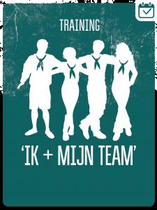 IK & MIJN TEAM @ Scoutinggroep Verkenners kluis Geleen