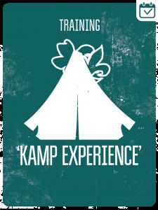 KAMP EXPERIENCE - DEEL I @ Scouting René Höppener