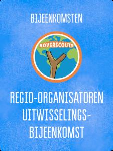 UITWISSELING REGIO-ORGANISATOREN ROVERSCOUTS @ Kantoor Scouting Limburg