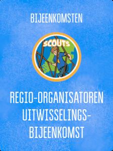 UITWISSELING REGIO-ORGANISATOREN SCOUTS @ Kantoor Scouting Limburg