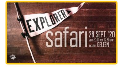Afbeelding met algemene informatie Explorer Safari 28/9