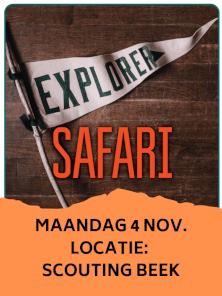EXPLORER SAFARI @ Scouting st. Martinus Beek