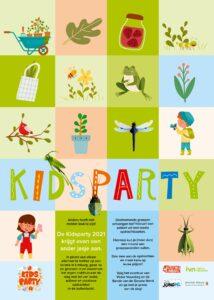KIDSPARTY - PRIJSUITREIKING @ Online