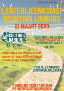 LENTEBIJEENKOMST @ Kantoor Scouting Limburg