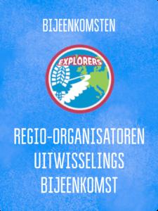 UITWISSELING REGIO-ORGANISATOREN EXPLORERS @ Kantoor Scouting Limburg