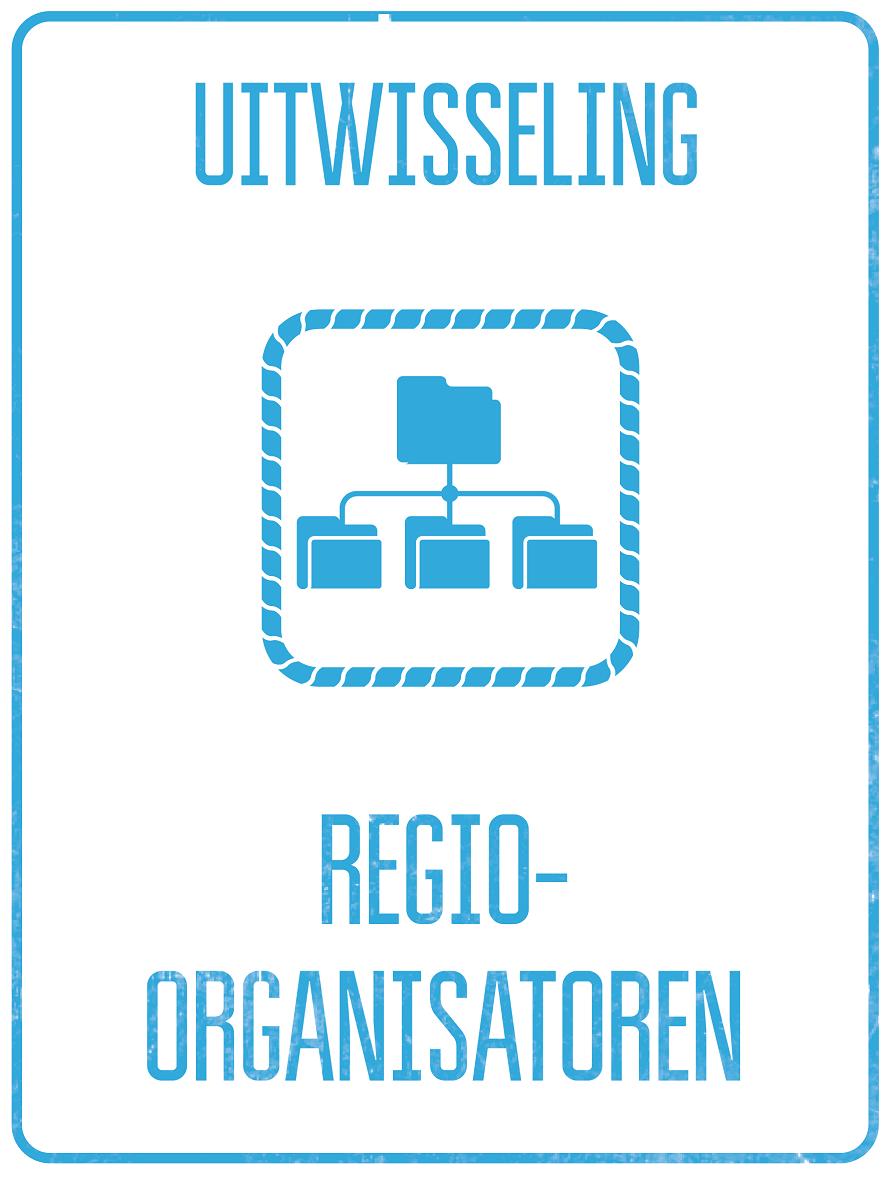 Afbeelding van de uitwisselingsbijeenkomst van regio-organisatoren