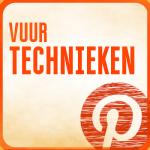 Link naar Vuur technieken op Pinterest